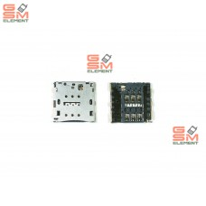 Коннектор SIM Huawei Ascend Mate 7/Ascend G7/Ascend P7/P8 Lite/GR3/Honor 8A