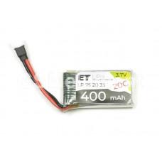 АКБ высокотоковая Energy Technology LP 752035 20C 3,7v Li-Pol 400 mAh
