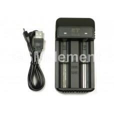 Зарядное устройство ET UL-2 для аккумуляторов 18650 (2 канала, автомат)