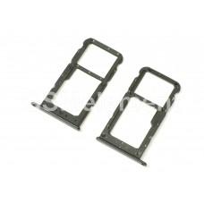 Контейнер SIM Huawei Honor 9 Lite, чёрный