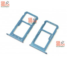 Контейнер SIM Huawei Honor 9 Lite, синий