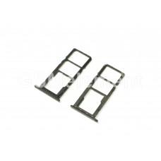 Контейнер SIM Huawei Honor 8C, чёрный