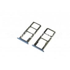 Контейнер SIM Huawei Honor 7A, синий