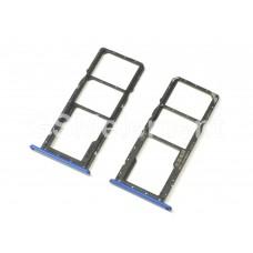 Контейнер SIM Huawei Honor 8X, синий