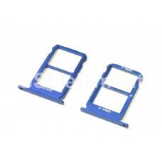Контейнер SIM Huawei Honor 10, синий