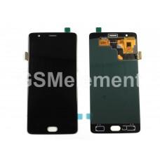 Дисплей OnePlus 3/3T/A3003 в сборе с тачскрином, чёрный