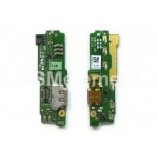 Шлейф (субплата) Sony G3221/G3212 (Xperia XA1 Ultra/XA1 Ultra Dual) на системный разъём, оригинал