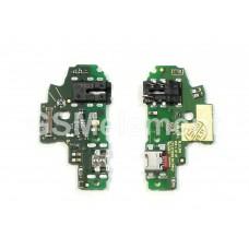 Шлейф (субплата) Huawei Honor 9 Lite на системный разъём, оригинал