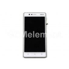 Дисплей Nokia 3 Dual Sim (TA-1032) модуль в сборе белый, оригинал