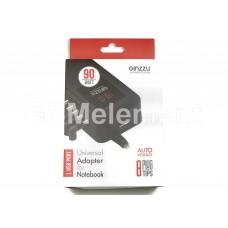 Сетевой адаптер питания для ноутбуков, универс., (90W, 8 коннекторов, USB 5V/2.1A) Ginzzu GA-1290UL
