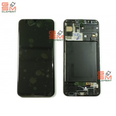 Дисплей Samsung SM-A307F Galaxy A30S модуль в сборе (Black), оригинал