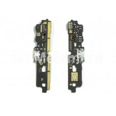 Шлейф ZTE Blade A6/A6 Lite с разьемом micro USB и микрофоном (субплата)