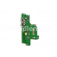Шлейф (субплата) Huawei Honor 8S (KSA-LX9)/ Y5 2019 (AMN-LX9) на системный разъём, оригинал