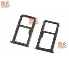 Контейнер SIM Huawei Honor 7X, чёрный