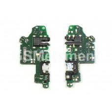 Шлейф (субплата) Huawei Honor 10i на системный разъём, оригинал