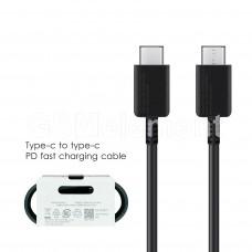 USB датакабель USB-C - USB-C Samsung EP-DG977BBE (1.0 m), чёрный AAA