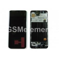 Дисплей Samsung SM-A515F Galaxy A51 модуль в сборе (Black), оригинал