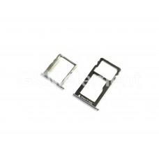 Контейнер SIM Huawei Honor 5X (комплект), чёрный