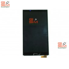 Дисплей HTC One E9S в сборе с тачскрином чёрный