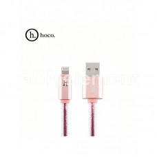 USB датакабель для Apple 8 pin Hoco UPL12, Metal Jelly (1.2 m) силикон, фиолетовый