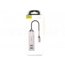 USB HUB Type-C Baseus CAHUB-D0G (5 port/3*USB 3.0 + 2*USB 2.0)
