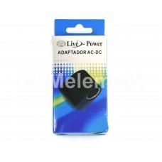 Имитатор прикуривателя Live-Power (с 220V в 12V, 500 mA), импульсный