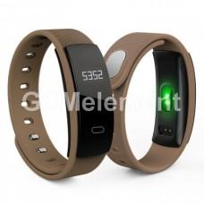 Фитнес-браслет QS80, коричневый