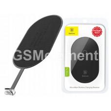 Ресивер для беспроводной зарядки Baseus WXTE-C01 (микрофибра, кабель micro USB), чёрный