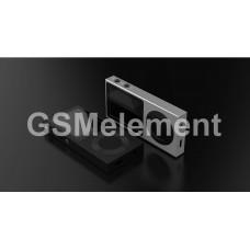 MP3 плеер Remax RP2 (Hi-Fi/ Bluetooth/ microSD до 256Gb), металл, серебро