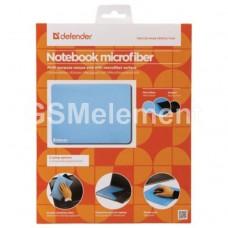 Коврик для мыши Defender NoteBook, микрофибра, голубой (300x225x1.2mm)