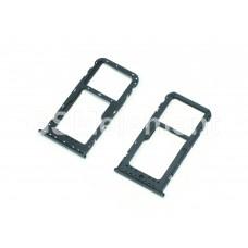 Контейнер SIM Huawei P10 Lite/Nova Lite, чёрный