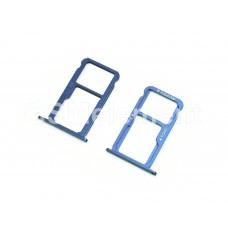 Контейнер SIM Huawei Honor 8, синий