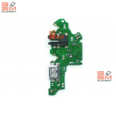 Шлейф (субплата) Huawei Honor 9X/P Smart Z на системный разъём