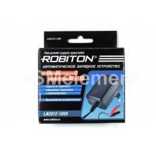 Зарядное устройство Robiton LAC612-1000 для свинцово-кислотных аккум. 6В и 12В, автомат