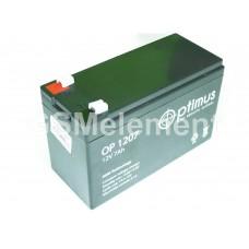 Аккумулятор свинцовый 12V-7Ah 151х65х101 Optimus OP1207