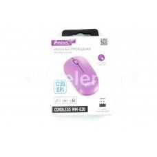 Мышь оптическая беспроводная Partner Cordless WM-030, розовый