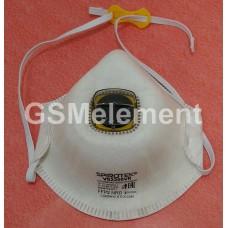 Респиратор полумаска фильтрующая с клапаном Spirotek VS2200VR FFP2