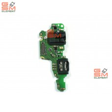 Шлейф (субплата) Huawei Honor 8C на системный разъём, оригинал