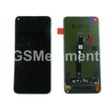 Дисплей Huawei Honor 20 (YAL-L21)/ Honor 20 Pro (YAL-L41) в сборе с тачскрином, чёрный, оригинал