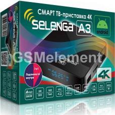 Смарт ТВ-приставка Selenga A3