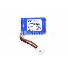 АКБ высокотоковая Energy Technology LP 752025 20C 3,7v Li-Pol 200 mAh
