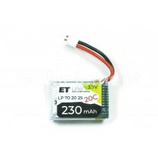 АКБ высокотоковая Energy Technology LP 702025 20C 3,7v Li-Pol 230 mAh