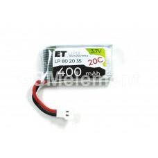 АКБ высокотоковая Energy Technology LP 802035 20C 3,7v Li-Pol 400 mAh