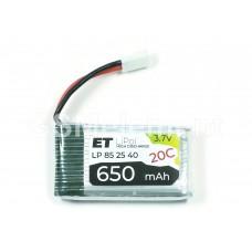 АКБ высокотоковая Energy Technology LP 852540 20C 3,7v Li-Pol 650 mAh