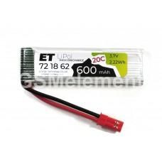АКБ высокотоковая Energy Technology LP 721862 20C 3,7v Li-Pol 600 mAh