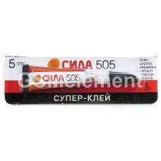 Клей моментальный (цианакрилат) СИЛА тюбик 3.0 г. (1/12)