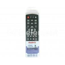 Пульт универсальный Huayu DVB-T2+2 (для DVB-T2 приставок, Version 2020)