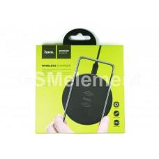 Беспроводное зарядное устройство HOCO CW14 Round Wireless Charger, чёрный