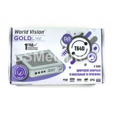 ТВ-приставка цифровая World Vision T64D (DVB-T2)