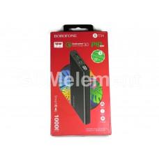 Внешний аккумулятор BoroFone BT34, 10000 mAh (2*USB-A, micro/Type-C, QC 3.0/PD, LCD), чёрный